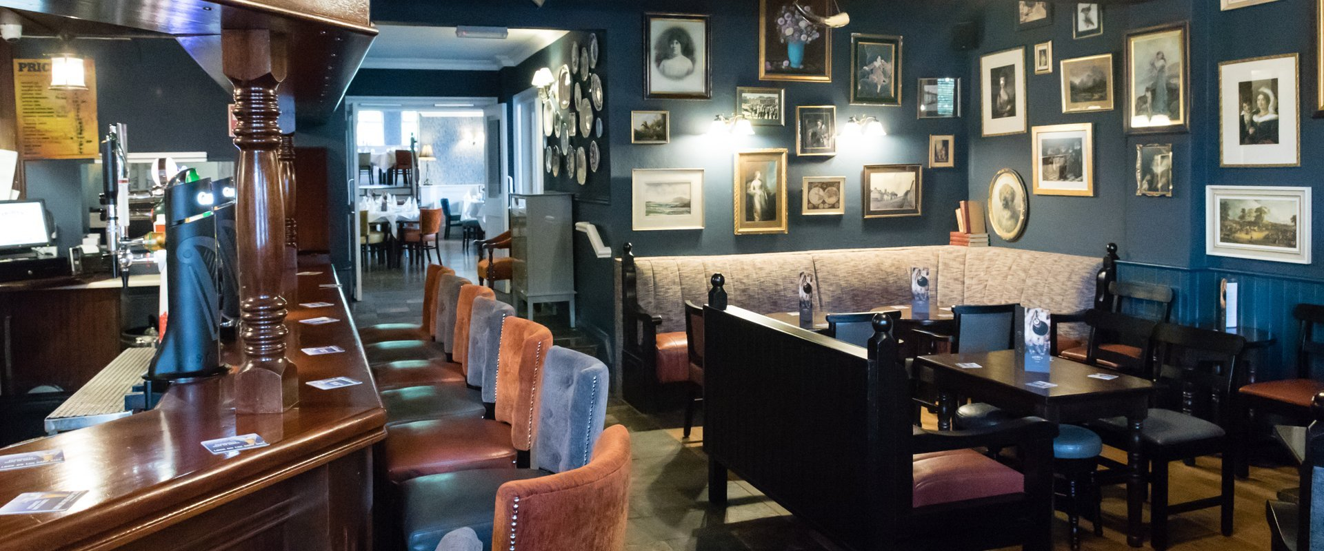 Digbys Bar & Restaurant interiors