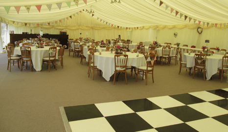 tailored marquee to suit your occasion