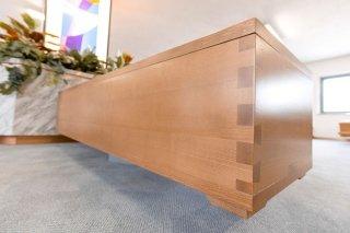 cofano funebre  legno