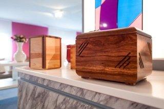 urne di legno