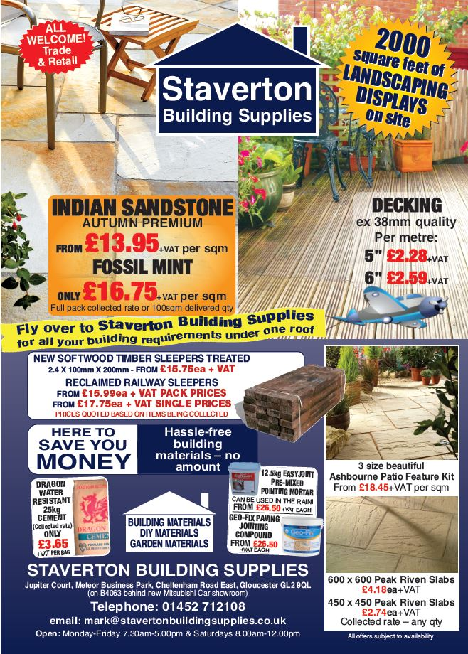 STAVERTON BUILDING SUPPLIES poster