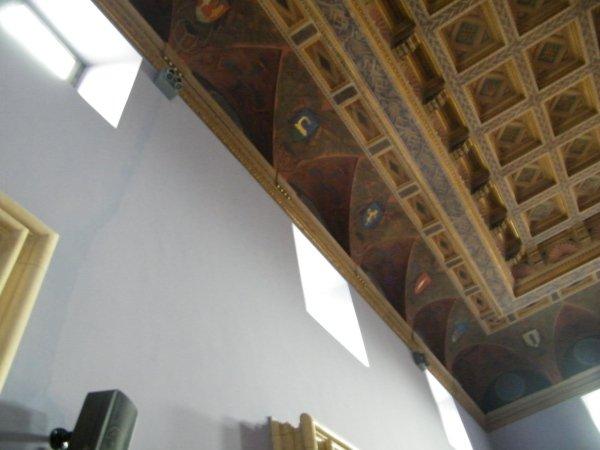 particolare Ristrutturazione affreschi