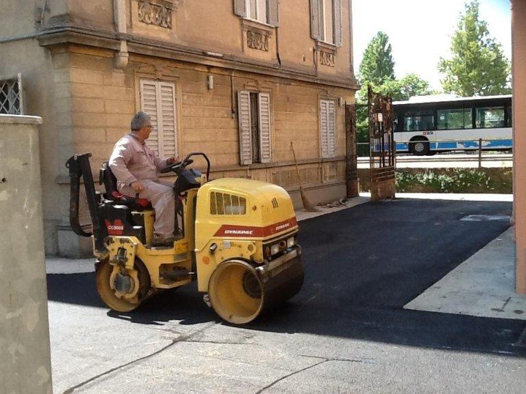 Asfaltatura e lavori manto stradale