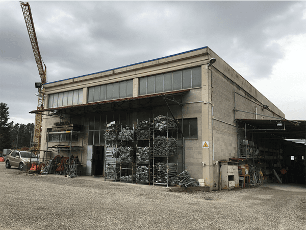 stabilimento industriale