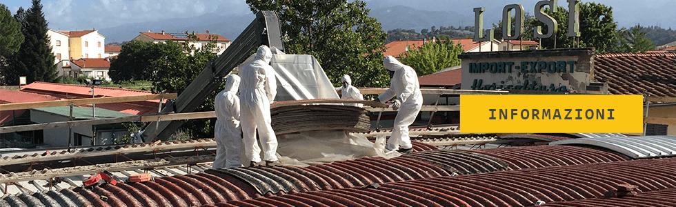 informazioni e preventivi smaltimento amianto