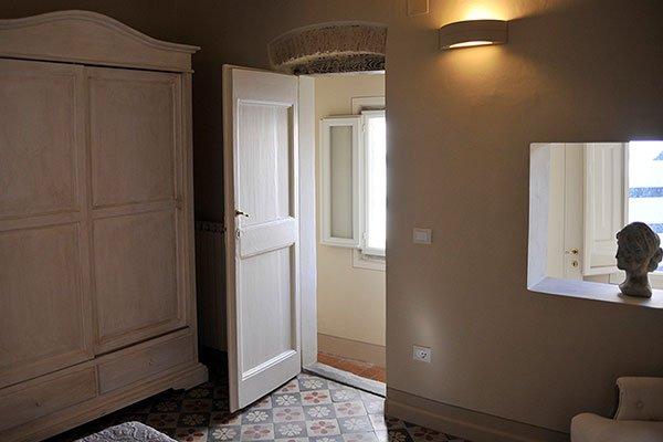 angolo della camera da letto