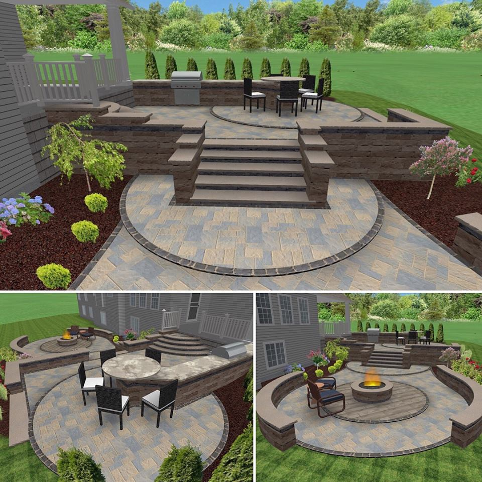Best Free 3d Home Design Software 2015: LM Wander & Sons Landscaping, Erie, PA