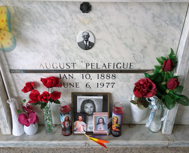 Photograph of Mausoleum Crypt of Nonco located in Mausoleum #1 of Saint John Francis Regis Catholic Church, Arnaudville, Louisiana.