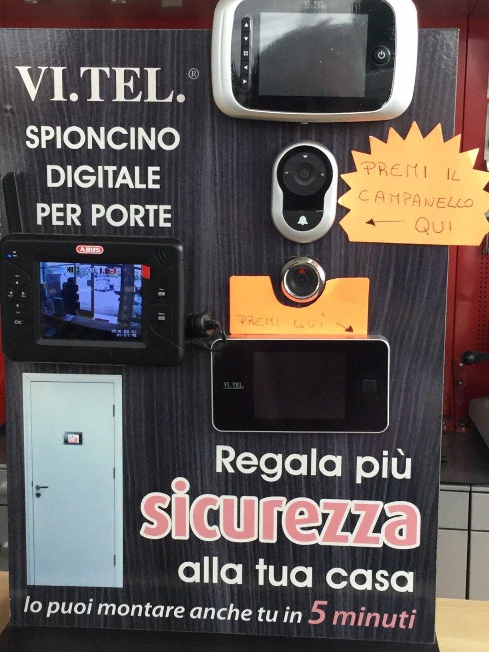 spioncino digitale per porte