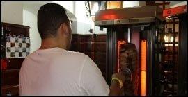 taglio carne per kebab
