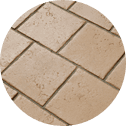 brown stone effect tiles