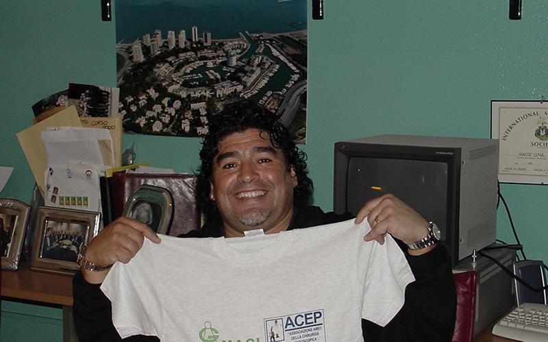 Maradona maglia amaci