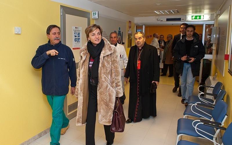 Vescovo Caffarra associazione Amaci