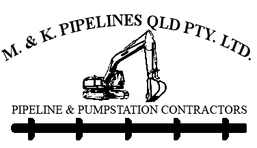 m and k pipelines pty ltd logo