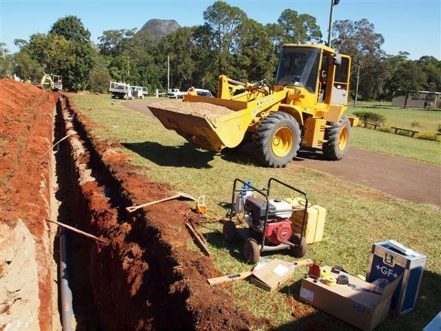m and k pipelines pty ltd work in progress