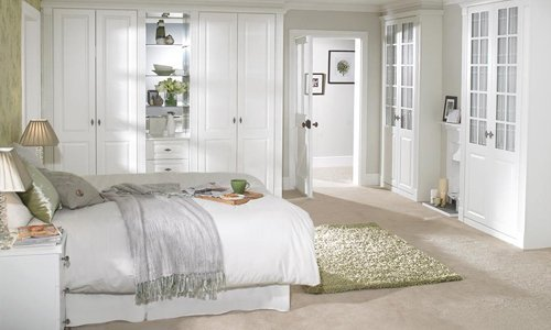 Furnished bedrooms