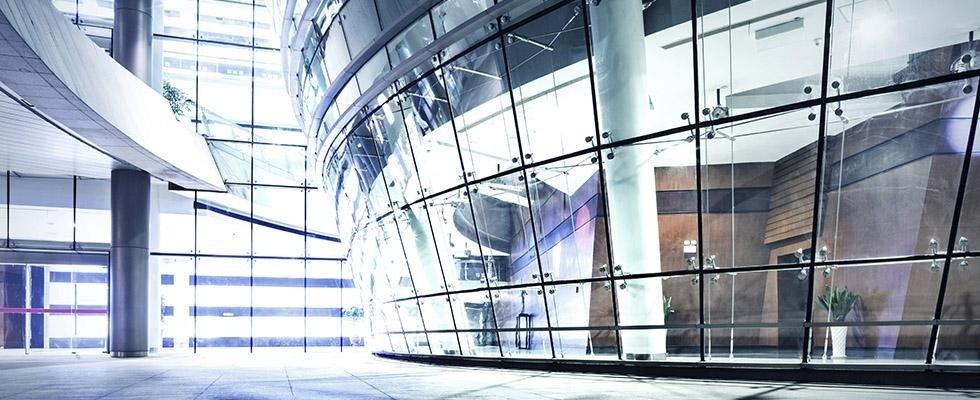 vetri per strutture