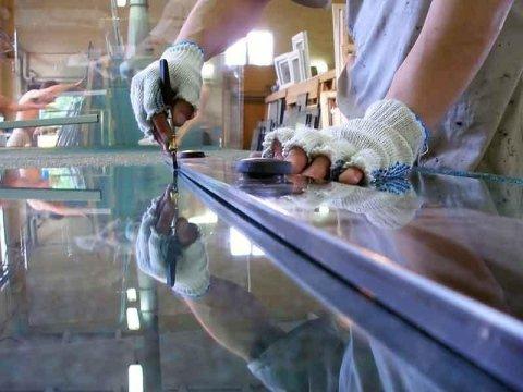 montaggio vetri