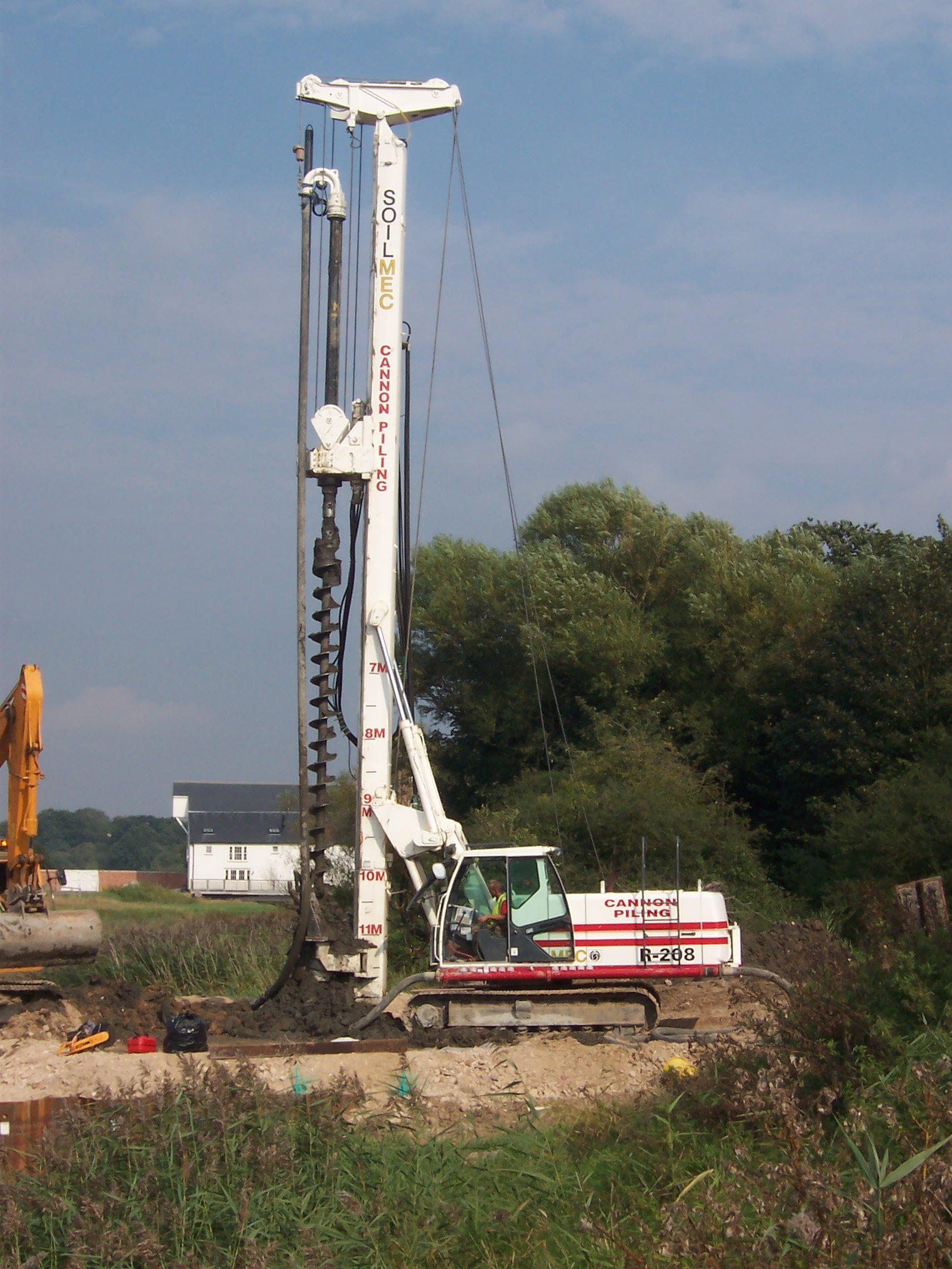 Piling drill