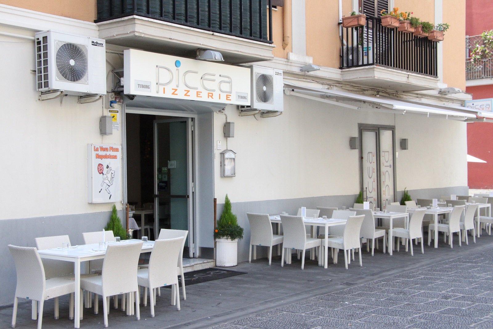 La pizzeria Picea a Pozzuoli