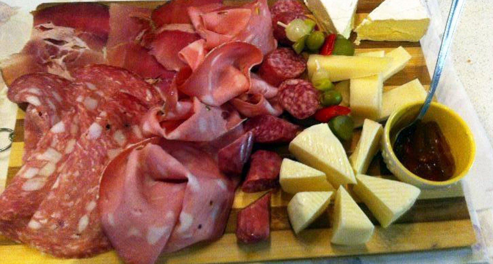 Affettati e formaggio a Piombino
