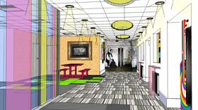 Office design - Manchester - Arcade Office Refurbishments - 3Dvisual