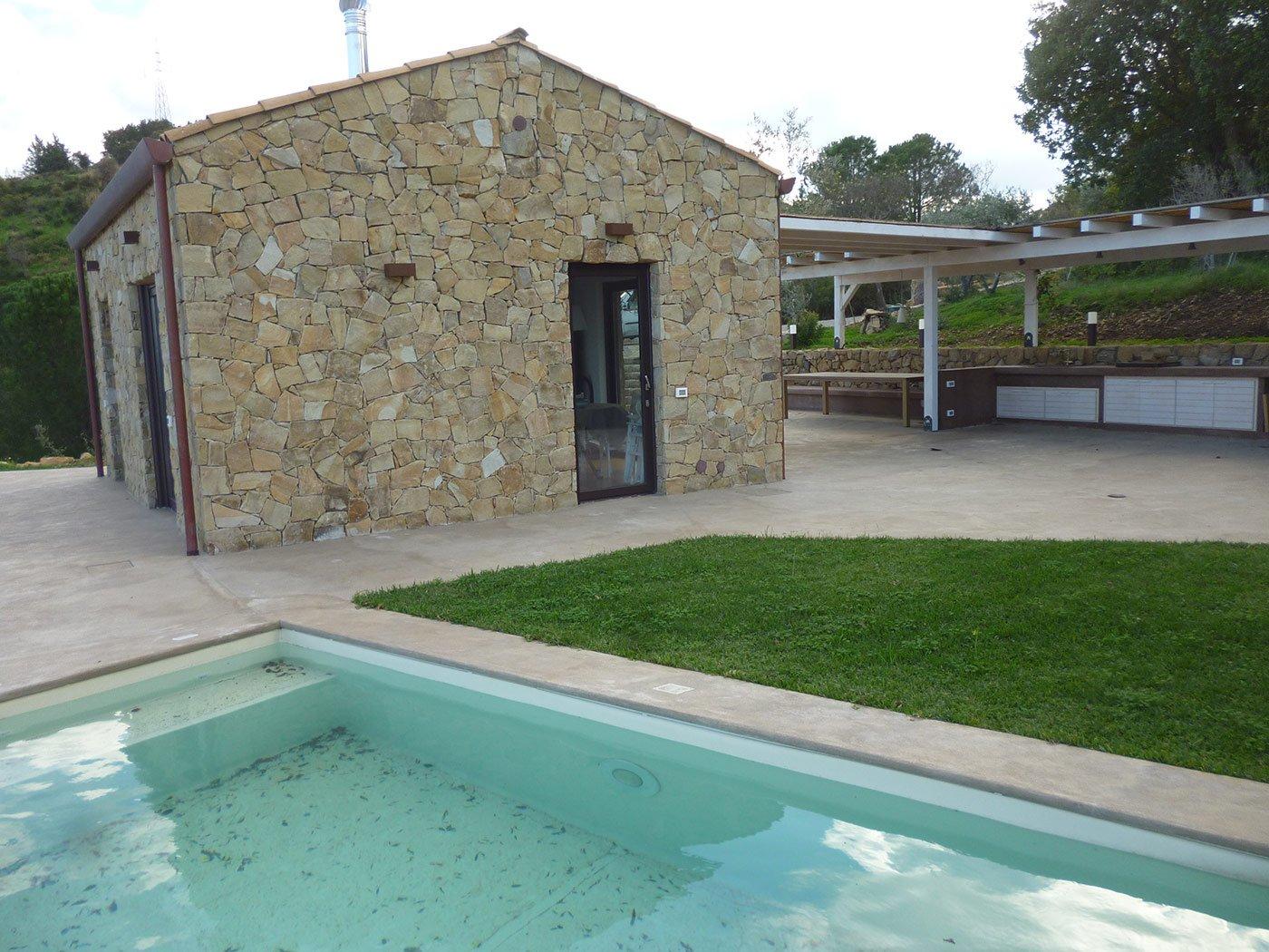piscina di una casa