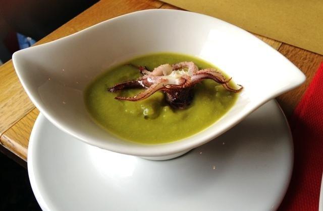 Polipo in salsa verde