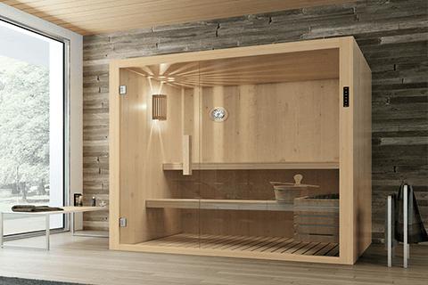 Cellulite sauna bagno