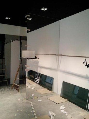 Arredamenti per negozi in vetro