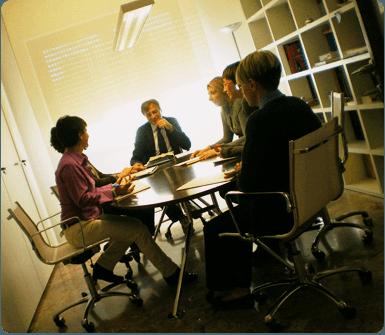 Avvocati in riunione