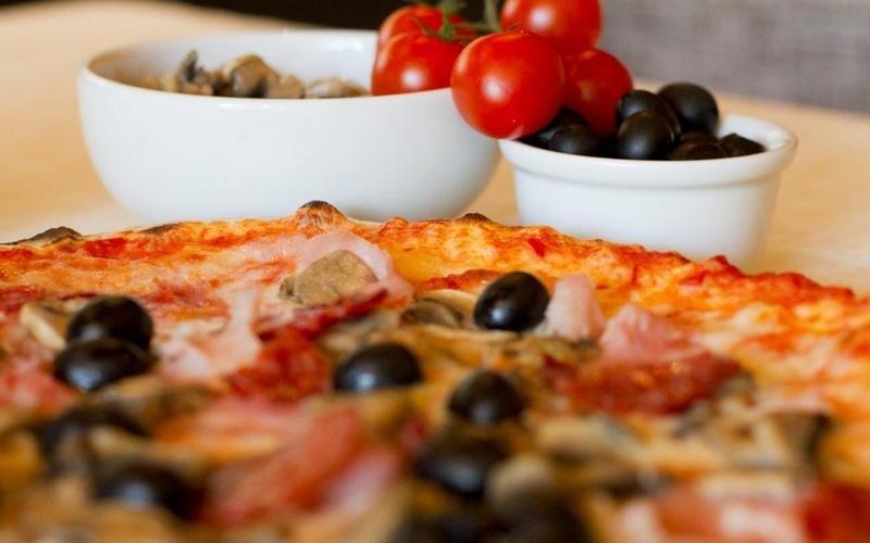 Pomodorini pizza