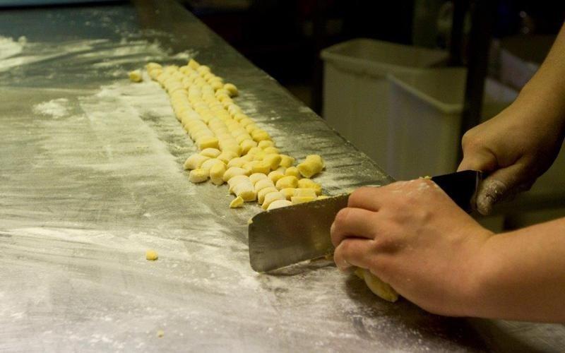 Produzione artigianale pasta