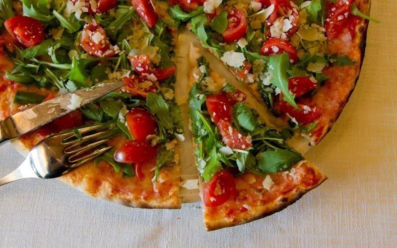 Pizza parmigiano