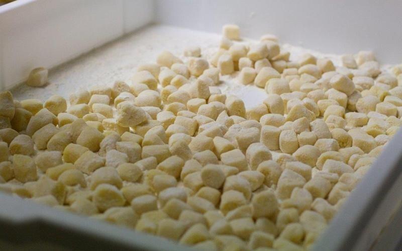Produzione artigianale gnocchi