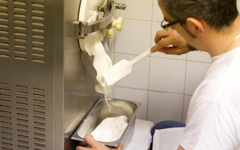 Produzione gelateria