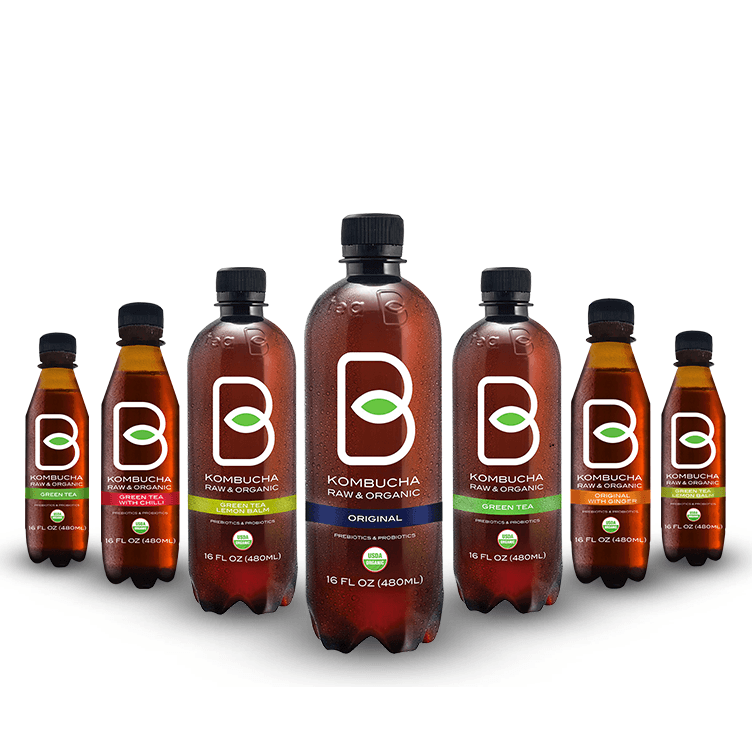 B-Tea Kombucha | ChefPola.com | Canadian Distributor Of Healthy Beverages