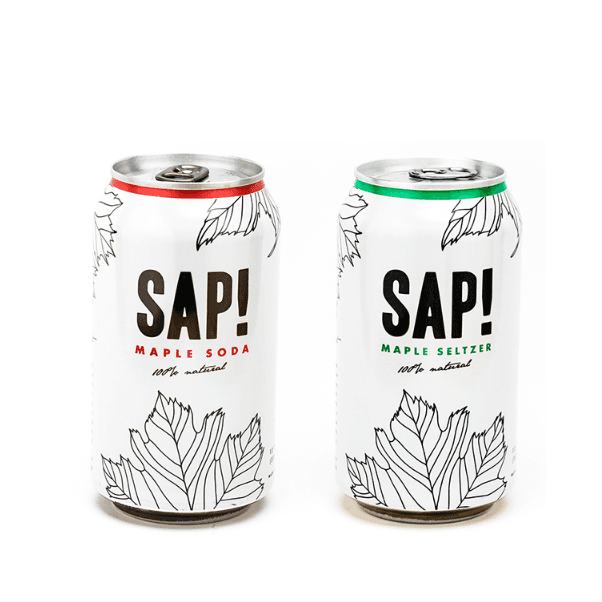 SAP! Maple Beverages - Chef Pola Canada - Made from Trees