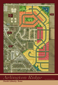 Arlington Ridge Plat Map