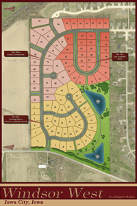Windsor West Plat Map