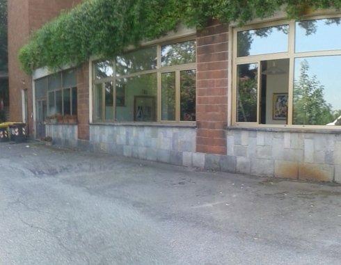 vista delle finestre di un edificio