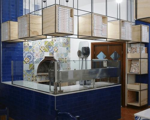 Interno della Pizzeria Sapori Di Casa ad Altamura