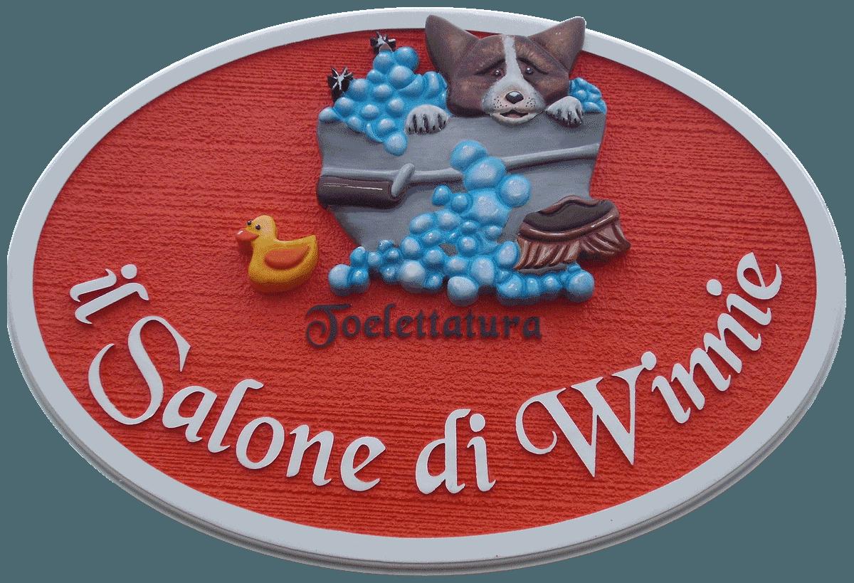IL SALONE DI WINNIE - TOELETTATURA CANI E GATTI - LOGO