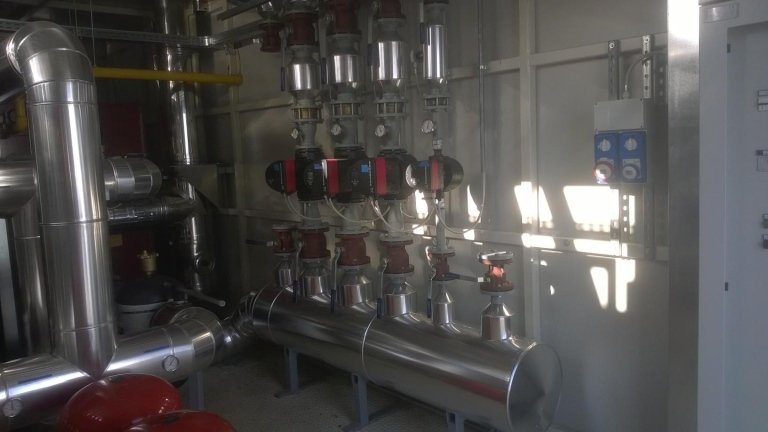 impianti Centrale termica