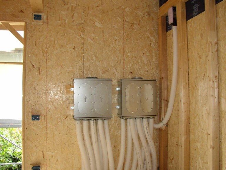 Impianti ricambio aria VMC