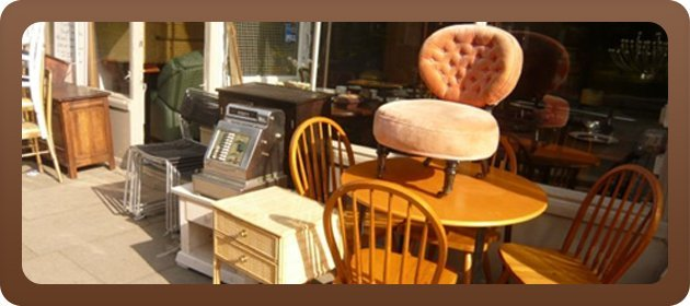 Wide selection of second-hand furniture - Hornsey, London - Aladdin's Furniture and Antiques - second hand