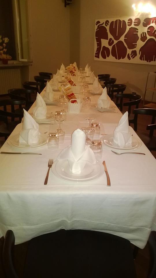 tavolata di un ristorante