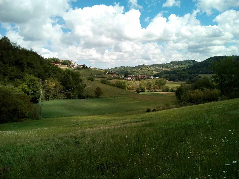 paesaggio di colline