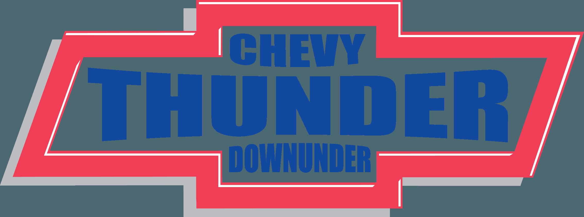 Chevy thunder downunder logo