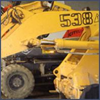 riparazioni escavatori cingolati e gommati